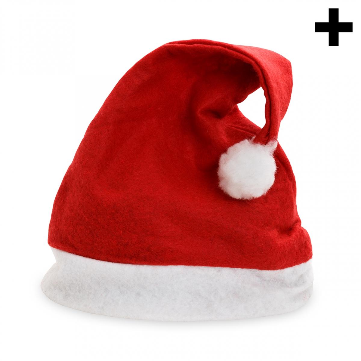 Imagen en la que se ve el plural del concepto gorro de Papá Noel