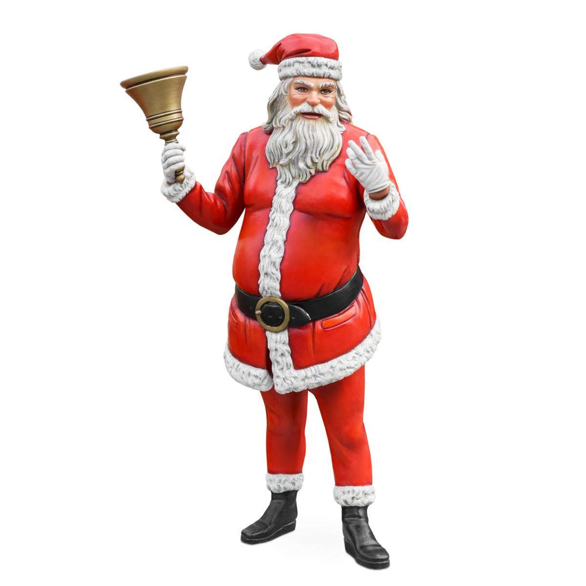 Imagen en la que se ve a Papá Noel