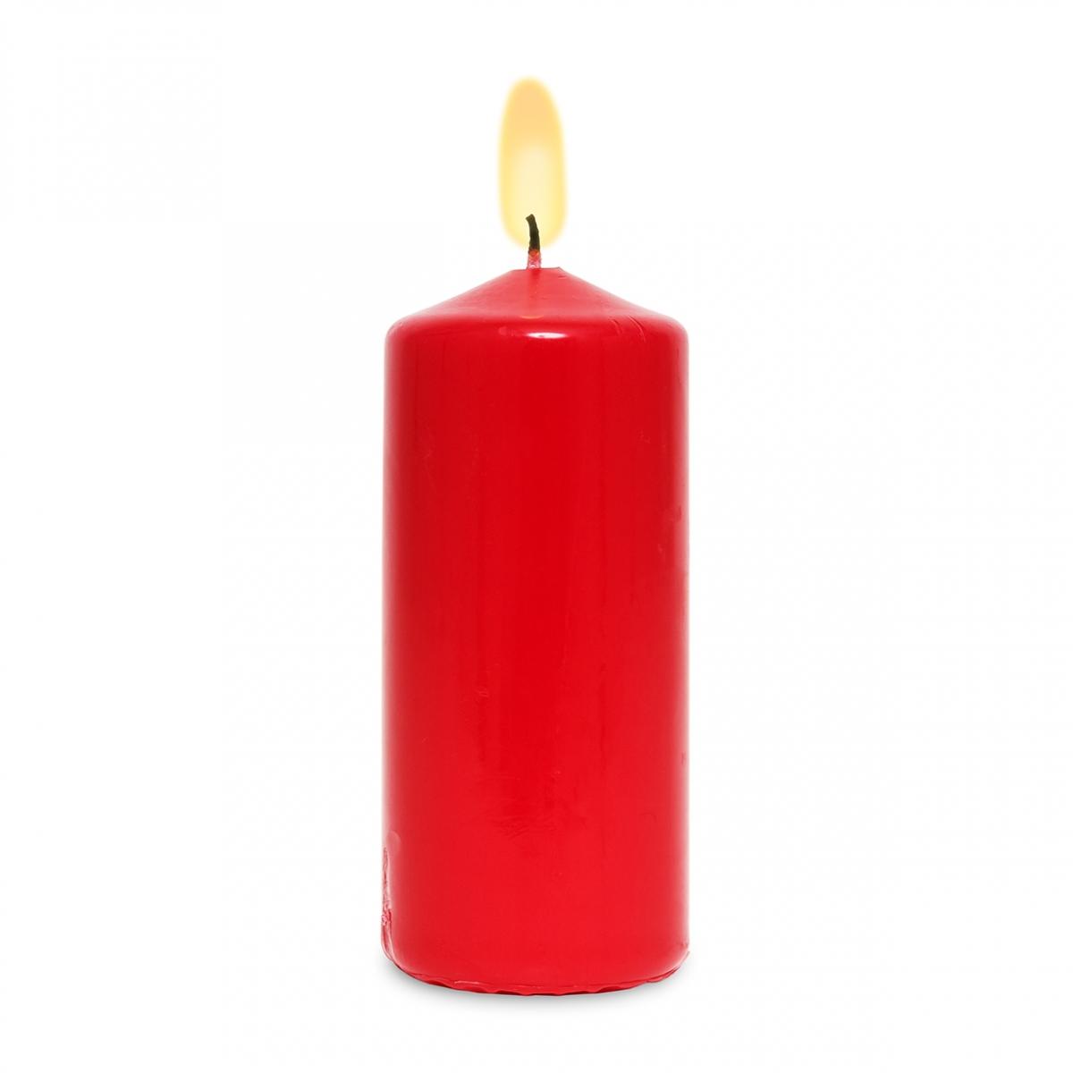 Imagen en la que se ve una vela