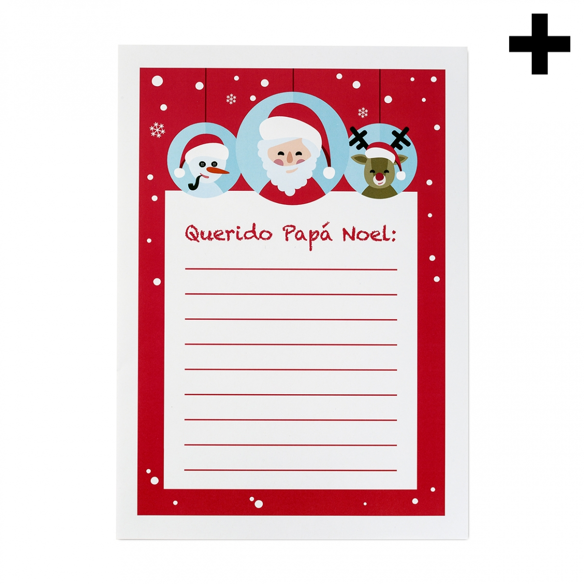 Imagen en la que se ve el plural del concepto carta Papá Noel