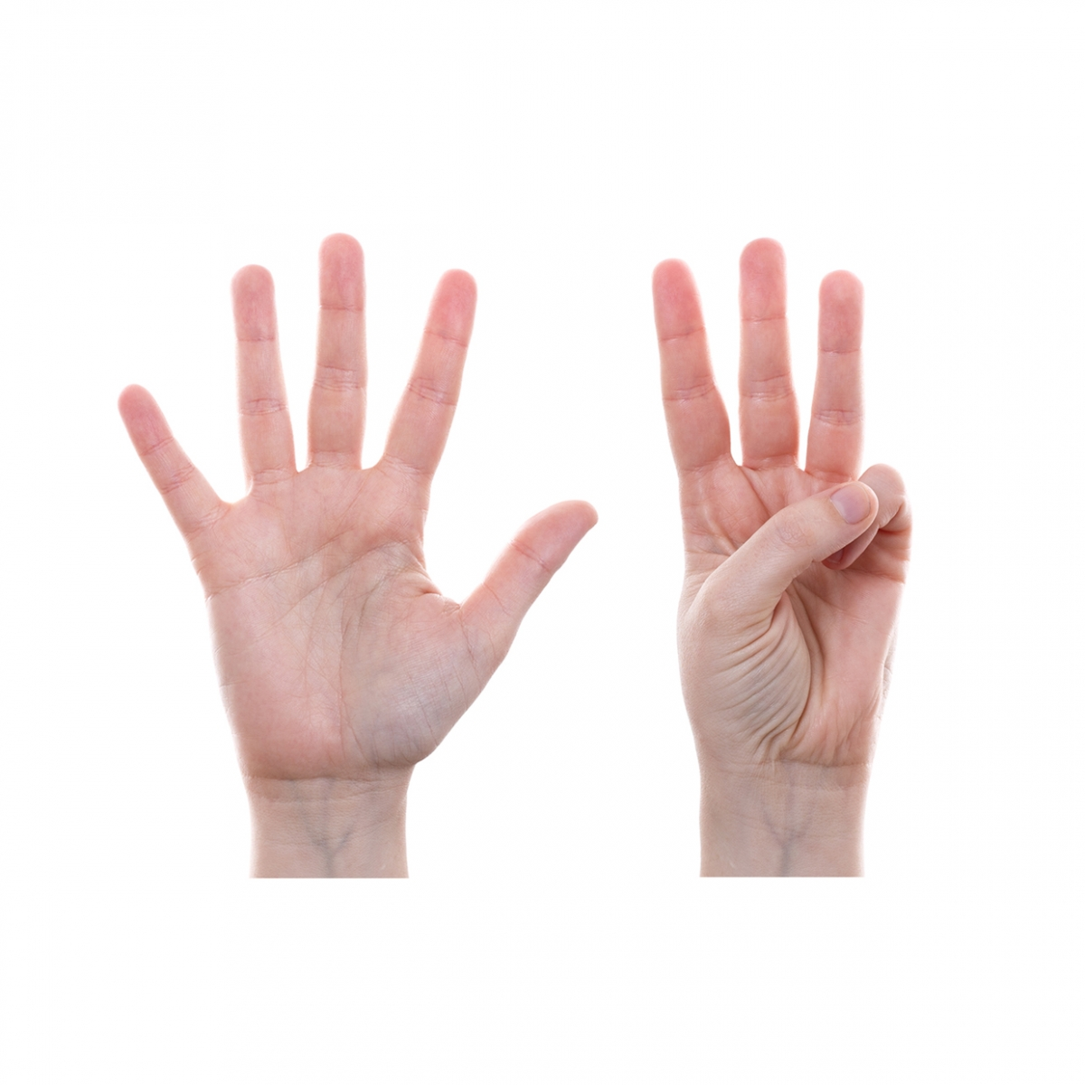 Imagen en la que se representa el número ocho