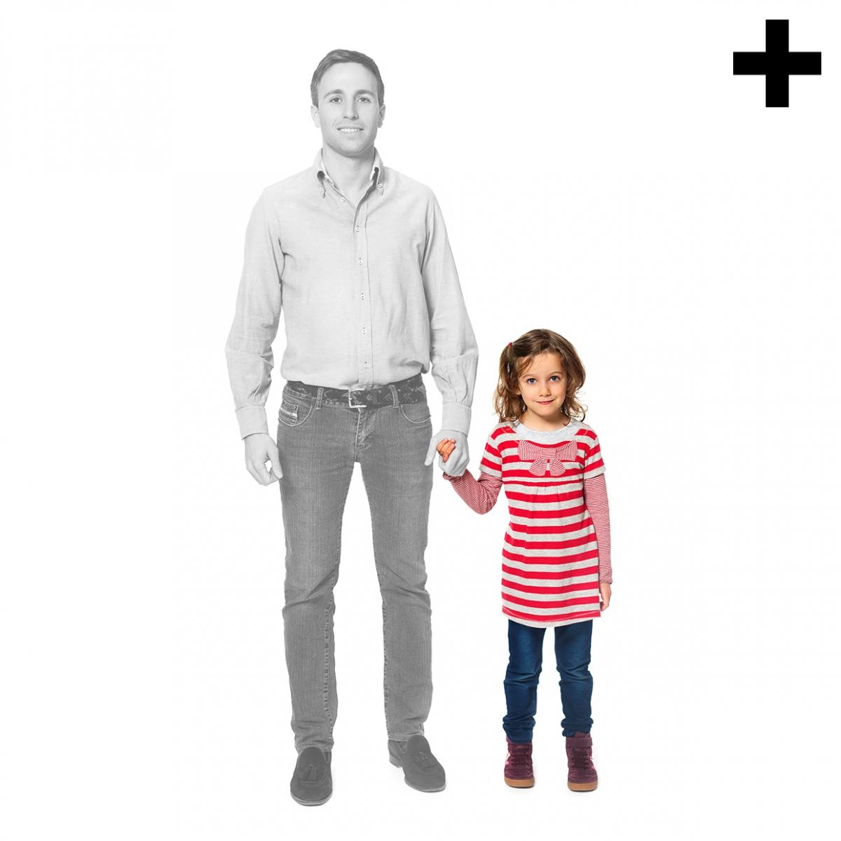 Imagen en la que se ve el plural del concepto hija