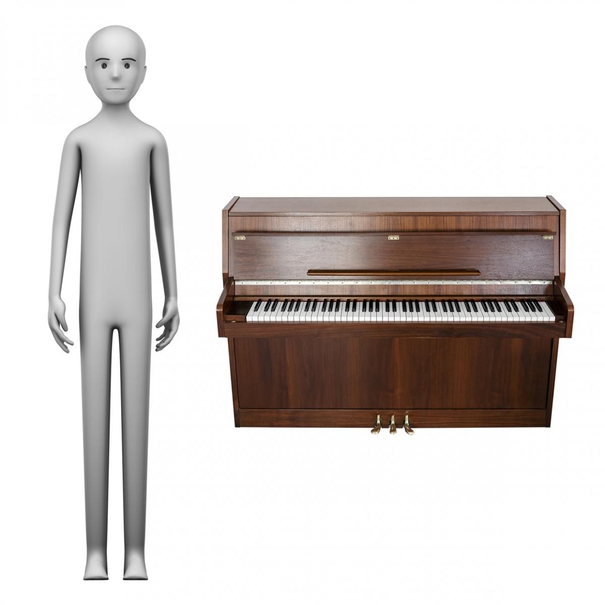Imagen en la que se ve el concepto de pianista