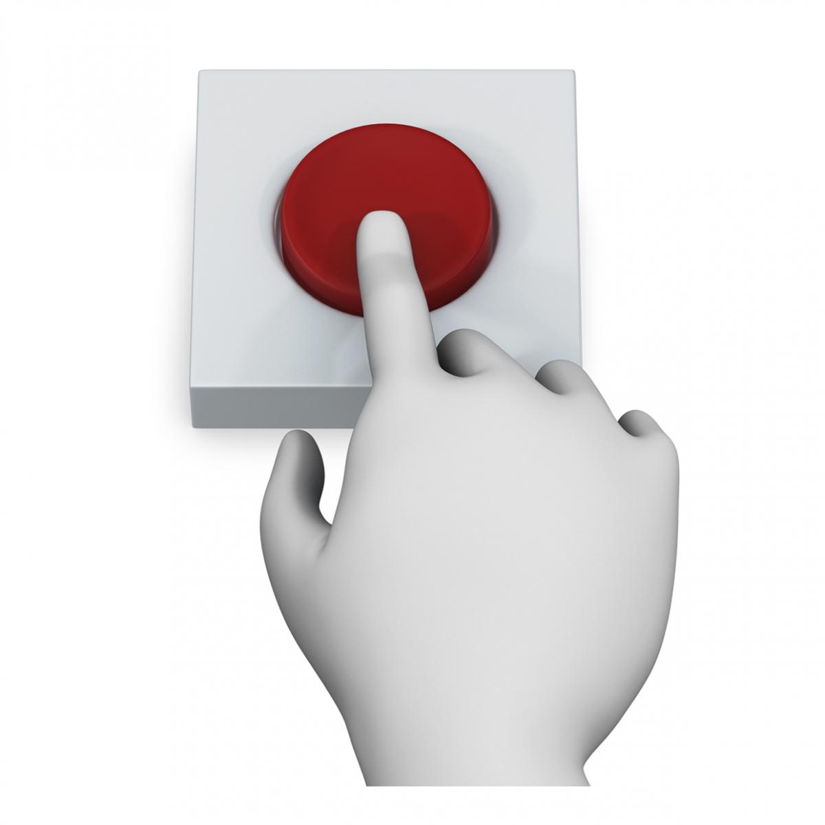 Imagen en la que sale un dedo pulsando un botón