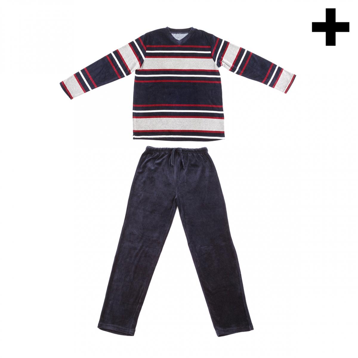 Imagen en la que se ve el plural del concepto pijama