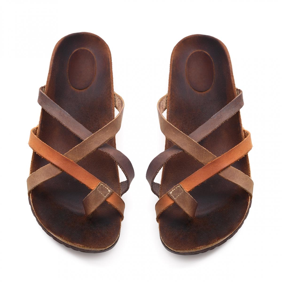 Imagen en la que se ve el concepto de sandalias