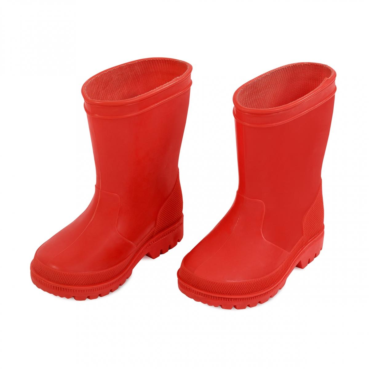 Imagen en la que se ve un par de botas de agua