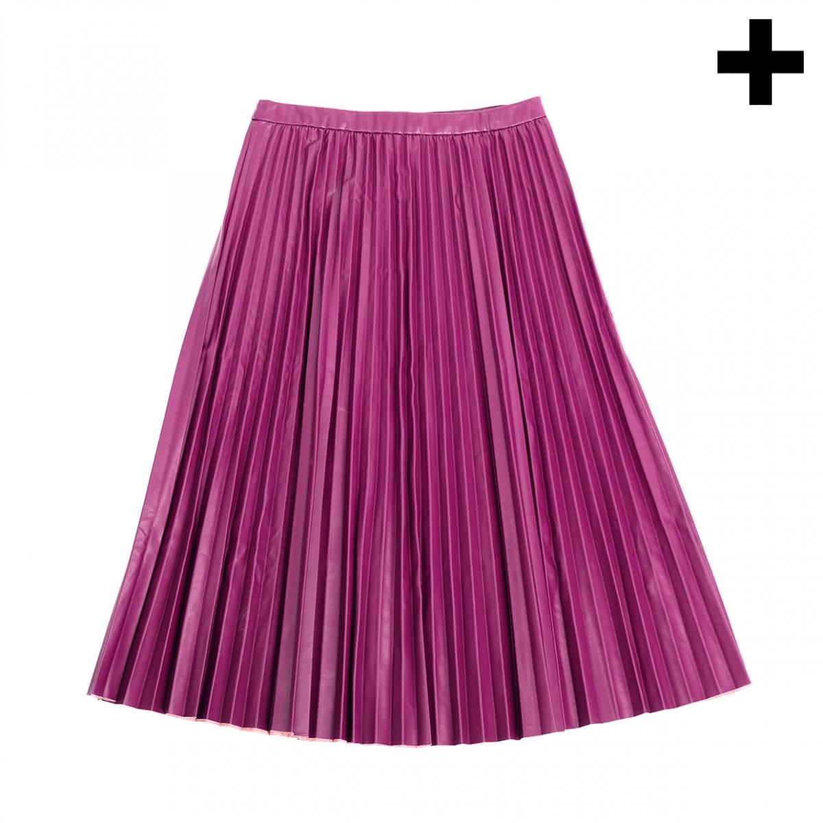 Imagen en la que se ve el plural del concepto falda