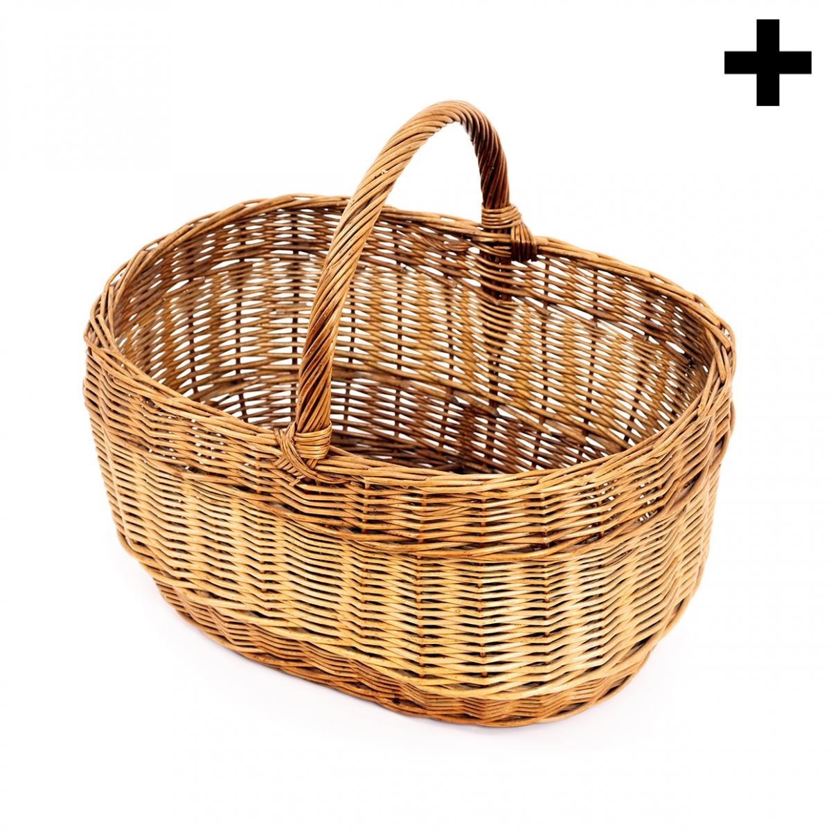 Imagen en la que se ve el plural del concepto cesto