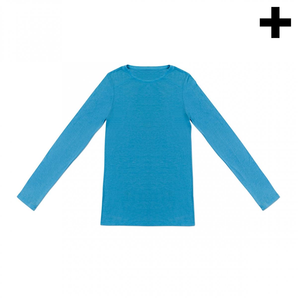 Imagen en la que se ve el plural del concepto camiseta de manga larga
