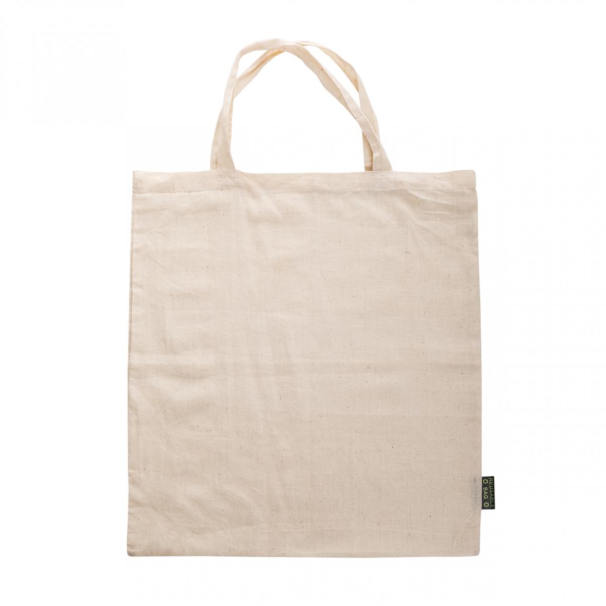Imagen en la que se ve una bolsa de tela