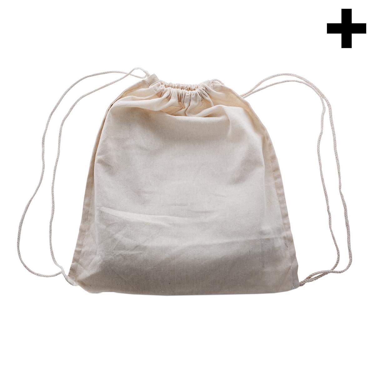 Imagen en la que se ve el plural del concepto mochila de tela