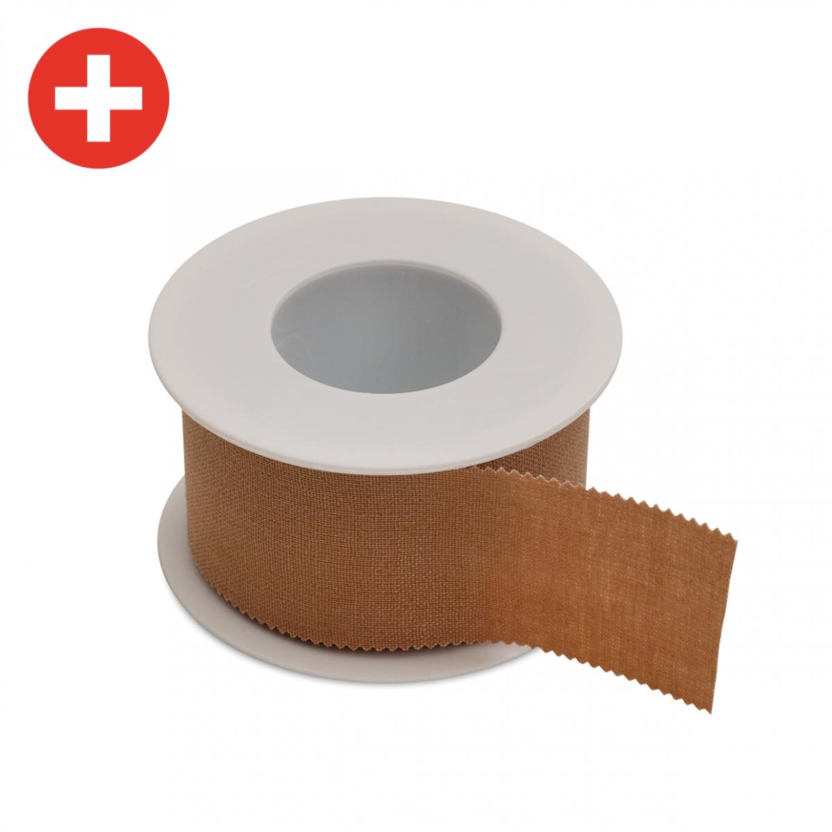 Imagen en la que se ve una cinta de esparadrapo
