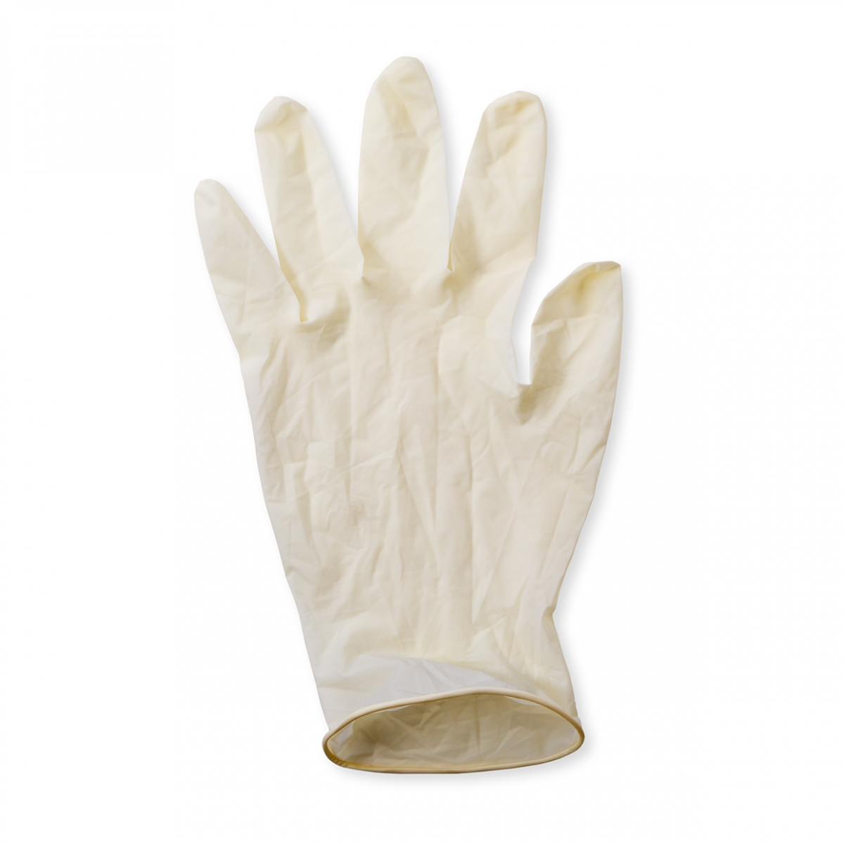 Imagen en la que se ve un guante de látex