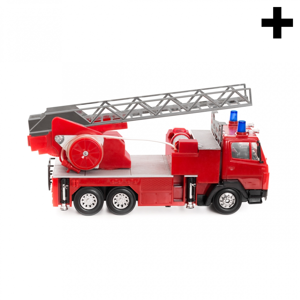 Imagen en la que se ve el plural del concepto camión de bomberos