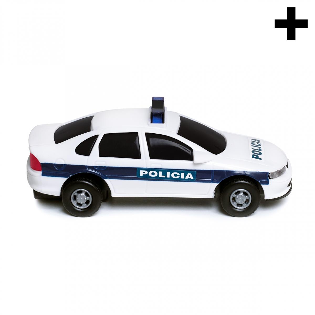 Imagen en la que se ve el plural del concepto coche de policía
