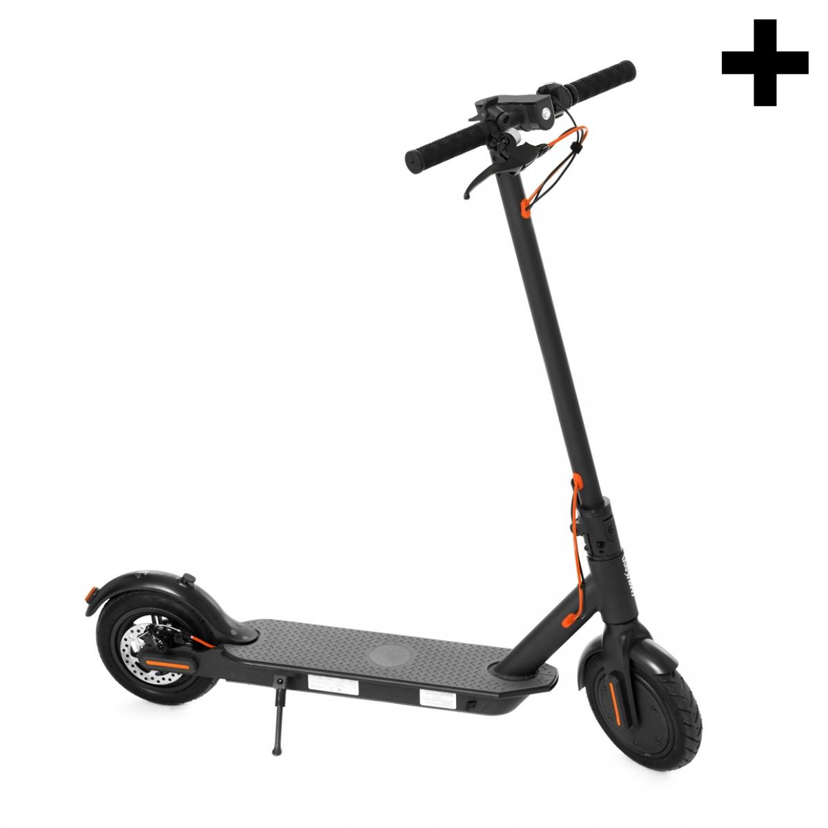 Imagen en la que se ve el plural del concepto patinete eléctrico