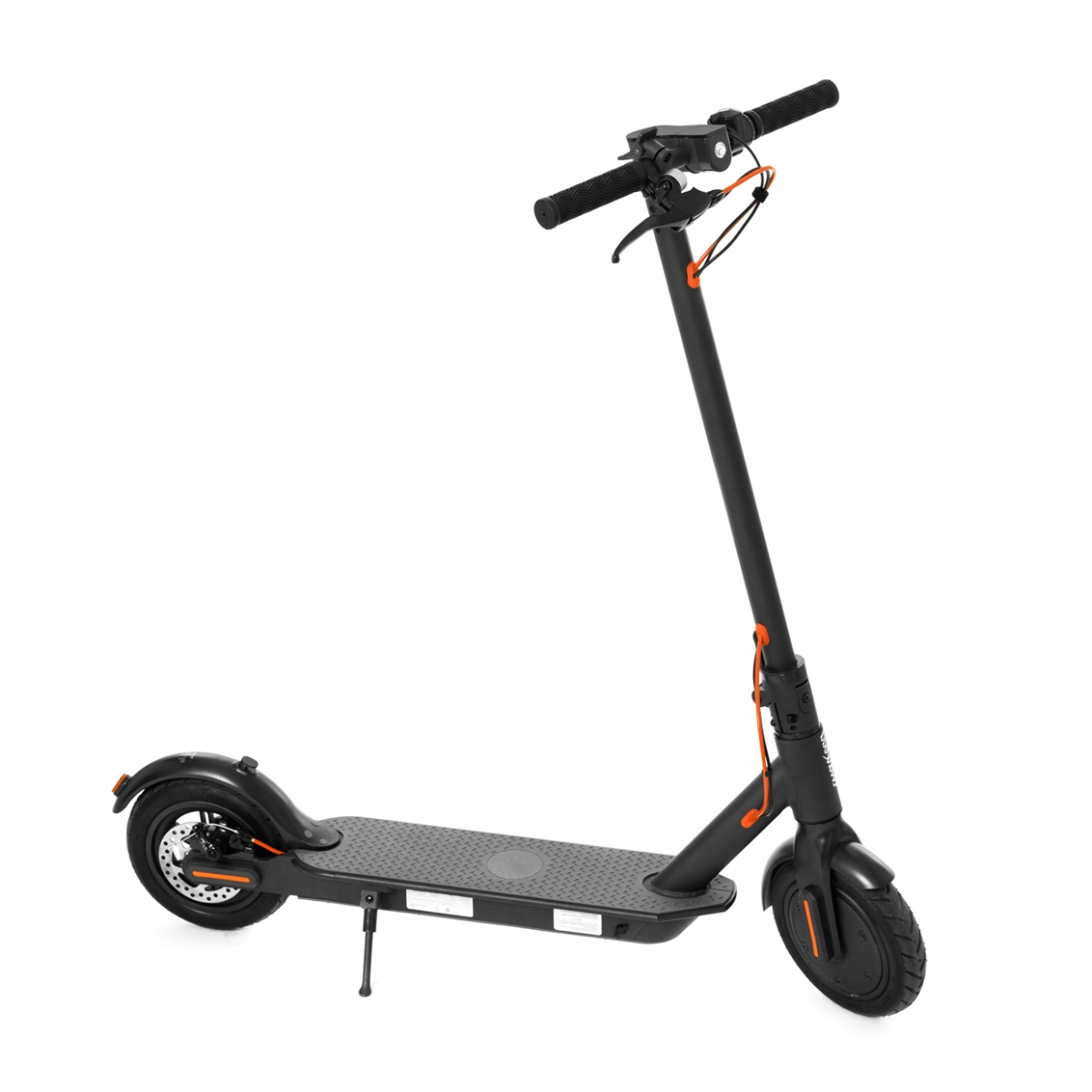 Imagen en la que se ve un patinete eléctrico