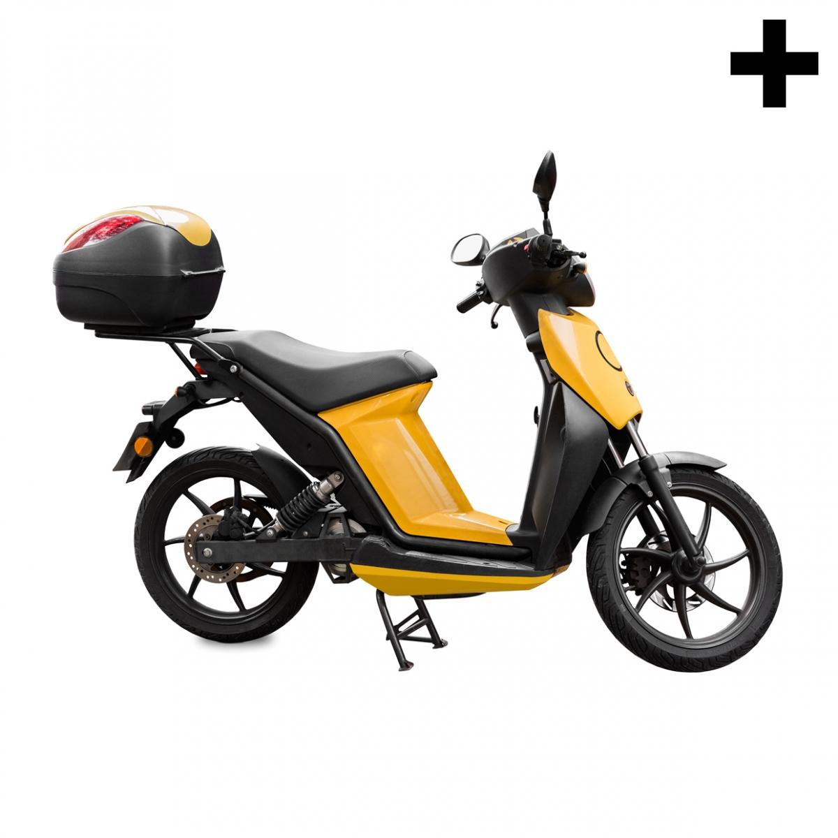 Imagen en la que se ve el plural del concepto moto eléctrica