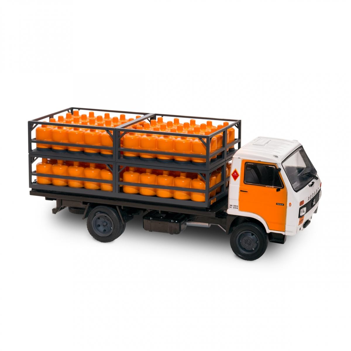 Imagen en la que se ve un camión del butano