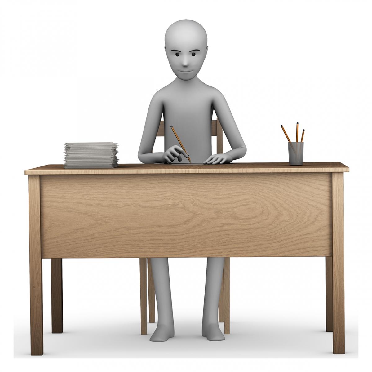 Imagen del verbo trabajar