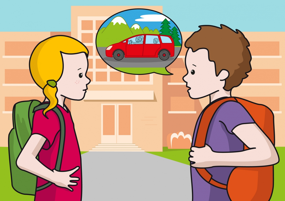 Saliendo de la escuela 9