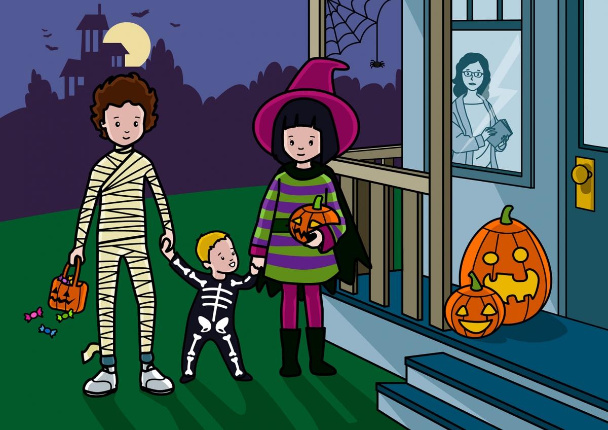 Celebramos la Fiesta de Halloween