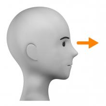 Imagen del verbo mirar