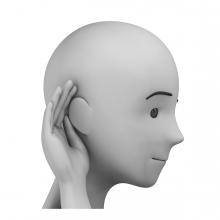 Imagen del verbo oir