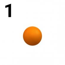 Imagen en la que se representa el número uno