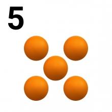 Imagen en la que se representa el número cinco