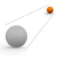Imagen del concepto Lejos