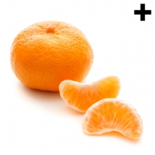 Imagen en la que se ve el plural del concepto mandarina