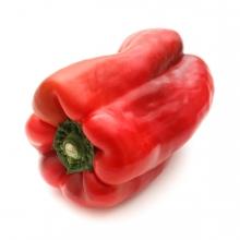 Imagen en la que se ve un pimiento rojo