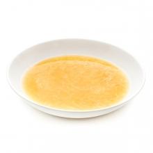 Imagen en la que se ve un plato con sopa
