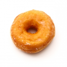 Imagen en la que se ve un donut