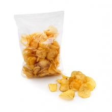 Imagen en la que se ve una bolsa de patatas chips