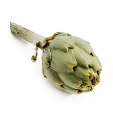 Imagen en la que se ve una alcachofa