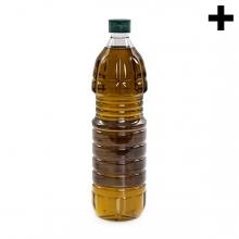 Imagen en la que se ve el plural del concepto botella de oliva