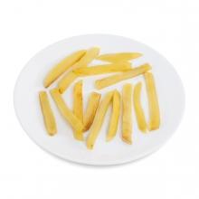 Imagen en la que se ve un plato de patatas fritas