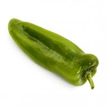 Imagen en la que se ve un pimiento verde