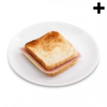 Imagen en la que se ve el plural del concepto sandwich