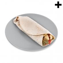 Imagen en la que se ve el plural del concepto burrito