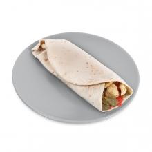 Imagen en la que se ve un burrito
