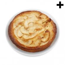 Imagen en la que se ve el plural del concepto tarta de manzana