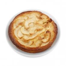 Imagen en la que se ve una tarta de manzana