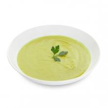 Imagen en la que se ve una crema de verduras