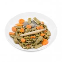 Imagen en la que se ve un plato de menestra