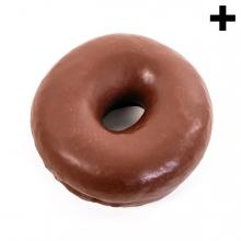Imagen en la que se ve el plural del concepto Donut de chocolate