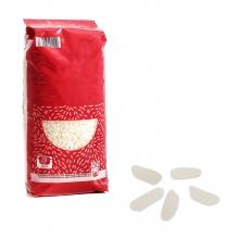 Imagen en la que se ve un paquete de arroz